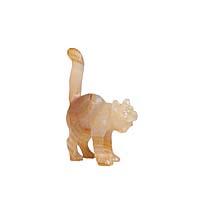 Статуэтка Кот, халцедон, резьба, House of Faberge, 90-е гг. ХХ века