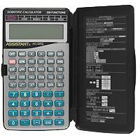 Калькулятор инженерный Assistant AC-3252, 228 функцийAC-3252Современный инженерный калькулятор - это решение для современных людей. Дизайн в стиле Hi-Tech подчеркнет стиль и статус ее обладателя, а 228 функций позволят в мгновение решить самые сложные алгебраические задачи. 10 разрядов мантиссы 2 разряда экспоненты 228 функций Двухстрочный дисплей Питание от батарейки Пластиковые кнопки Пластиковая крышка Металлическая лицевая панель Характеристики: Размер калькулятора: 14 x 8,1 x 1,4 см. Размер дисплея: 6 см х 1,7 см. Цвет: черный, серебристый. Изготовитель: Китай.