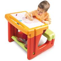 Столы и доски для рисования Парта Маленький школьник с аксессуарами...