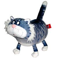 Мягкая игрушка Котик Кузя, 18 смКТК0Очаровательная мягкая игрушка Котик Кузя вызовет умиление и улыбку у каждого, кто ее увидит. Она станет замечательным подарком, как ребенку, так и взрослому. Необычайно мягкая, она принесет радость и подарит своему обладателю мгновения нежных объятий и приятных воспоминаний. Мягкая игрушка может стать милым подарком, а может быть и лучшим другом на все времена.