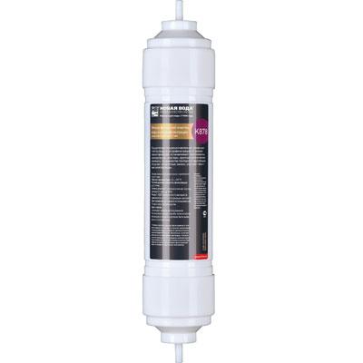 Фильтр Новая вода финишной очистки воды и ультрафильтрации. К878К878Картридж финишной очистки воды и ультрафильтрации для фильтров Expert. Фильтрующий элемент K878 используется в качестве четвертой ступени фильтров Новая Вода Expert М400, М410, M420. Подходит также для модернизации моделей Expert M200, M300, M305. Осуществляет ультрафильтрационное кондиционирование воды с сохранением микроэлементного состава, финишную очистку воды и тонкую фильтрацию от механических примесей, останавливает коллоиды, молекулярные кластеры, крупные органические молекулы, большинство бактерий и простейших. Устраняет неприятные запахи, улучшает вкусовые качества воды.