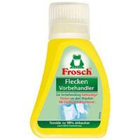 Средство для предварительной обработки пятен Frosch, 75 мл1105957Средство Frosch предназначено для предварительной обработки въевшихся пятен перед стиркой. Эффективное удаление пятен с помощью цитрата соли лимонной кислоты.