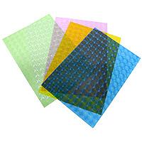 Набор транспарентной бумаги Folia, с 3D эффектом, 5 листов810409Транспарентная бумага Folia с оригинальным 3D рисунком прекрасно подходит для изготовления эксклюзивных подарочных сумочек, необычных открыток, фонариков и прочих дизайнерских вещей. Конструирование из транспарентной бумаги - необходимый для развития детей процесс. Во время занятия аппликацией ребенок сумеет разработать четкость движений, ловкость пальцев, аккуратность и внимательность.