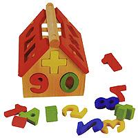 Домик-сортер Цифры-фигурыД199Яркая игрушка-сортер Цифры-фигуры, выполненная в виде домика, привлечет внимание ребенка и поможет в игровой форме изучить счет. В комплект с домиком входят 19 разноцветных фигурок, выполненных в виде цифр и простых геометрических фигур. Конструкция с отверстиями для фигурок разных форм развивает у ребенка логику, воображение, концентрацию внимания, цветовое восприятие, координацию движений, формирует геометрическое видение предметов.