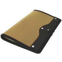 Визитница Index, на 120 визиток, цвет: золотойICH45/GDСовременная практичная и вместительная визитница в обложке из высококачественного полипропилена с тканевой окантовкой и застежкой-резинкой рассчитана на 120 визиток.