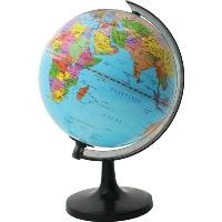 Глобус Rotondo с политической картой мира. Диаметр 20 смRG20/POLГеографический глобус Rotondo с политической картой мира станет незаменимым атрибутом обучения не только школьника, но и студента. Глобус дает представление о политическом устройстве мира. На нем отображены линии картографической сетки, показаны границы государств, столицы государств и крупнейшие населенные пункты. Глобус является уменьшенной и практически не искаженной моделью Земли и предназначен для использования в качестве наглядного картографического пособия, а также для украшения интерьера квартир, кабинетов и офисов. Красочность, повышенная наглядность визуального восприятия взаимосвязей, отображенных на глобусе объектов и явлений, в сочетании с простотой выполнения по нему различных измерений делают глобус доступным широкому кругу потребителей для получения разнообразной познавательной, научной и справочной информации о Земле. Характеристики: Общая высота: 31 см. Диаметр глобуса: 20 см. Масштаб: 1:63000000. Размер упаковки: 21 см x 20,5...
