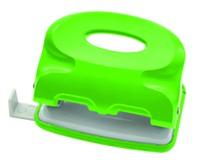 Дырокол Index Colourplay, цвет: неоновый зеленый. ICP110/GNICP110/GNПрактичный дырокол Index Colourplay на два отверстия в эргономичном корпусе с возможностью одновременной перфорации до 10 листов. Корпус выполнен из прочного пластика. Для выравнивания листов предусмотрена выдвижная линейка. Система очистки от конфетти One-Touch. Характеристики: Размер дырокола: 10 см х 6 см х 3,5 см. Материал: металл, пластик. Цвет: неоновый зеленый. Размер упаковки: 11 см х 6,5 см х 4,5 см.