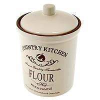 Банка для продуктов Terracota Кухня в стиле Кантри 18 см TLY301-2-CK-ALTLY301-2-CK-ALБанка Кухня в стиле Кантри, выполненная из жаропрочной керамики и покрытая высококачественной глазурью, станет незаменимым помощником на кухне. В ней будет удобно хранить разнообразные сыпучие продукты, такие как кофе, крупы, макароны или специи. Емкость легко закрывается крышкой. Оригинальный дизайн позволит сделать такую емкость отличным подарком на любой праздник.