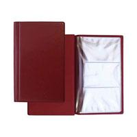 Визитница Panta Plast, на 60 визиток, цвет: темно-бордовый03-0220-2/БордЭлегантная визитница с прозрачными карманами в обложке из высококачественного винила предназначена для хранения и систематизации до 60 визитных карт.