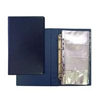 """Визитница """"Panta Plast"""", на 200 визиток, цвет: темно-синий 03-2821-2/ТС"""