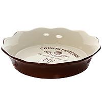 Форма для выпечки Terracotta Кухня в стиле Кантри TLY081-CK-ALTLY081-CK-ALДля всех любителей домашней выпечки эта форма будет отличным выбором. Форма выполнена из жаропрочной керамики, что обеспечивает оптимальное распределение тепла. Изделие покрыто высококачественной глазурью.