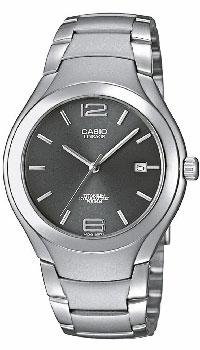 Наручные часы Casio LIN-169-8A1141B8B2/37Наручные часы Casio LIN-169-7A в титановом корпусе. Надежность, стиль и точность - вот о чем скажут они о своем владельце. Отображение даты (число) Задняя крышка с винтовым фиксатором Длительный срок службы батареи - 10 лет Точность хода +/-20 сек в месяц