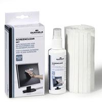 Набор Superclean Set для очистки мониторов и стеклянных поверхностей5707-00Набор Superclean Set для очистки мониторов и стеклянных поверхностей позволяет эффективно ухаживать за офисной и бытовой техникой, не оставляя разводов. В набор входят спрей Superclean Fluid с чистящей антистатической жидкостью и салфетки из нетканого материала, не оставляющие ворсинок.