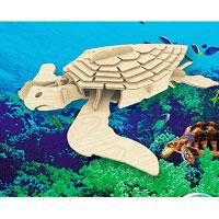 Сборная деревянная модель Морская черепахаЕ009Сборная деревянная модель Морская черепаха позволит вам и вашему ребенку собрать объемную деревянную конструкцию в виде морской черепахи. Модель для сборки развивает мелкую моторику, интеллектуальные способности, воображение и конструктивное мышление, тренирует терпение и усидчивость. Модель выполнена из экологически чистой древесины.