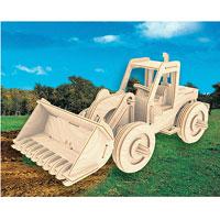 Сборная деревянная модель БульдозерП029Сборная деревянная модель Бульдозер позволит вам и вашему ребенку собрать объемную деревянную конструкцию в виде бульдозера. Модель для сборки развивает мелкую моторику, интеллектуальные способности, воображение и конструктивное мышление, тренирует терпение и усидчивость. Модель выполнена из экологически чистой древесины.