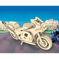Сборная деревянная модель Гоночный мотоциклП023Сборная деревянная модель Гоночный мотоцикл позволит вам и вашему ребенку собрать объемную деревянную конструкцию в виде мотоцикла. Модель для сборки развивает мелкую моторику, интеллектуальные способности, воображение и конструктивное мышление, тренирует терпение и усидчивость. Модель выполнена из экологически чистой древесины.