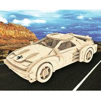 Сборная деревянная модель Спортивный автомобильП065Сборная деревянная модель Спортивный автомобиль позволит вам и вашему ребенку собрать объемную деревянную конструкцию в виде спортивного автомобиля. Модель для сборки развивает мелкую моторику, интеллектуальные способности, воображение и конструктивное мышление, тренирует терпение и усидчивость. Модель выполнена из экологически чистой древесины.