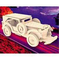 Сборная деревянная модель ФордП014Сборная деревянная модель Форд позволит вам и вашему ребенку собрать объемную деревянную конструкцию в виде автомобиля марки Ford. Модель для сборки развивает мелкую моторику, интеллектуальные способности, воображение и конструктивное мышление, тренирует терпение и усидчивость. Модель выполнена из экологически чистой древесины.