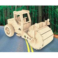 Сборная деревянная модель КатокП027Сборная деревянная модель Каток позволит вам и вашему ребенку собрать объемную деревянную конструкцию в виде дорожного катка. Модель для сборки развивает мелкую моторику, интеллектуальные способности, воображение и конструктивное мышление, тренирует терпение и усидчивость. Модель выполнена из экологически чистой древесины.