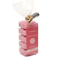 Растительное мыло Тубероза, 5х30 гSA530TUНатуральное мыло Тубероза на 40% состоит из оливкового масла, а также содержит комплекс ингредиентов, которые защищают кожу. Благодаря особой формуле в мыле сохраняется большое количество оливкового масла первого отжима при минимальном количестве консервантов. Не содержит искусственных красителей и обладает ароматом туберозы.