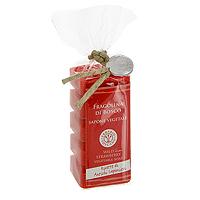 Растительное мыло Клубника, 5х30 гSA530FBНатуральное мыло Клубника на 40% состоит из оливкового масла, а также содержит комплекс ингредиентов, которые защищают кожу. Благодаря особой формуле в мыле сохраняется большое количество оливкового масла первого отжима при минимальном количестве консервантов. Не содержит искусственных красителей и обладает нежным ароматом клубники.