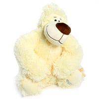 Мягкая игрушка Медведь Малинкин, 32 смММН1ЛСимпатичный мягкий медведь Малинкин, выполненный из трикотажа с длинным ворсом, не оставит равнодушным ни ребенка, ни взрослого и вызовет улыбку у каждого, кто его увидит. Необычайно мягкий, он принесет радость и подарит своему обладателю мгновения нежных объятий и приятных воспоминаний. Европейский стиль и великолепное качество исполнения делают эту игрушку чудесным подарком к любому празднику, а оригинальный жизнерадостный образ представит такой подарок в самом лучшем свете. Характеристики: Высота в сидячем положении: 32 см. Материал: текстиль, пластик. Набивка: полиэфирное волокно.