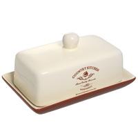 Масленка Terracotta Кухня в стиле Кантри TLY288-CK-ALTLY288-CK-ALМасленка Кухня в стиле Кантри изготовлена из жаропрочной керамики и покрыта высококачественной глазурью. Она способна не только украсить ваш дом, но так же пополнить вашу коллекцию.