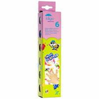 Прозрачная гуашь с блестками 6 цветов по 25 млsp371015Прозрачная гуашь Idigo с блестками - отличный способ придать индивидуальности и украсить любой рисунок. При нанесении возникает эффект мерцания. Подходит для любых поверхностей, может использоваться для декорирования различных предметов. Эта гуашь совместима с любой краской из линейки продукции Idigo - просто смешайте краску с прозрачной блестящей гуашью в нужных вам пропорциях, и выбранный вами оттенок краски засияет яркими и переливающимися блестками. Гуашь легко смывается с рук и текстиля.