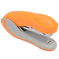 Степлер Colourplay, для скоб №10, цвет: оранжевыйICS600/ORПрактичный степлер Colourplay с вертикальной загрузкой скоб в эргономичном корпусе из яркого пластика. При загрузке скоб верхняя крышка фиксируется в открытом положении. Степлер вмещает 50 скоб и рассчитан на скрепление до 12 листов. Размер скоб: №10.
