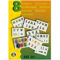 Набор трафаретов Буквы/цифры для воздушных фломастеров, 8 шт9996/DСпециально разработанные высококачественные трафареты Буквы/цифры предназначены для создания необыкновенных рисунков, при помощи которых можно, например, украсить свои органайзеры, создать оригинальные открытки или приглашения, а также создавать различные подарочные предметы, такие как обложки для книг, мешочки для подарков, рамки для картин или оберточную бумагу. Инструкция и советы приведены внутри, достаточно только добавить к этому фантазию и можно начинать. Для достижения лучших результатов используйте воздушные фломастеры. Помогите ребенку раскрыть в себе талант настоящего художника и создать множество рисунков, которыми он сможет удивить своих друзей и родственников.