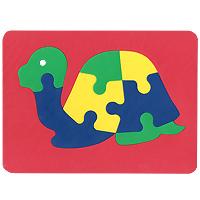 Бомик Пазл для малышей Черепаха126Мягкая мозаика Черепаха выполнена из особого материала, который дает юному конструктору новые удивительные возможности в игре: детали мозаики гнутся, но не ломаются, их всегда можно состыковать. Такая мозаика развивает пространственное и логическое мышление, память и глазомер. Знакомит с формами и цветом предмета в процессе игры. Рекомендована для занятий дома и в детских садах. Мозаика изготовлена из мягкого, прочного материала, который обеспечивает большую долговечность и является абсолютно безопасным для детей. Характеристики: Размер мозаики в собранном виде: 21 см х 29 см. Уважаемые клиенты! Обращаем ваше внимание на возможные изменения в цветовом дизайне некоторых элементов товара. Поставка осуществляется в зависимости от наличия на складе.