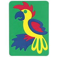 Бомик Пазл для малышей Попугай124Мягкая мозаика Попугай выполнена из особого материала, который дает юному конструктору новые удивительные возможности в игре: детали мозаики гнутся, но не ломаются, их всегда можно состыковать. Такая мозаика развивает пространственное и логическое мышление, память и глазомер. Знакомит с формами и цветом предмета в процессе игры. Рекомендована для занятий дома и в детских садах. Мозаика изготовлена из мягкого, прочного материала, который обеспечивает большую долговечность и является абсолютно безопасным для детей.