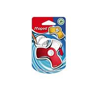 Ластик Maped Spin, цвет: красный127410Оригинальный ластик Spin в поворотном защитном футляре из пластика. Легко удаляет следы чернографитных карандашей, а футляр защищает ластик от загрязнений и увеличивает его срок службы. Не содержит ПВХ. Характеристики: Размер ластика: 6 см x 3 см x 1 см. Изготовитель: Китай.