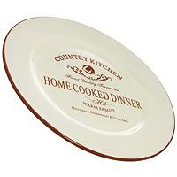 Тарелка Terracotta Кухня в стиле Кантри, 26 см. TLY802-1-CK-ALTLY802-1-CK-ALОбеденная тарелка Кухня в стиле Кантри изготовлена из жаропрочной керамики и покрыта высококачественной глазурью. Она способна не только украсить ваш дом, но так же пополнить вашу коллекцию. Данная посуда идеально подходит для выпечки, приготовления различных блюд и разогревания пищи в духовом шкафу или микроволновой печи. Может использоваться для хранения продуктов, в том числе в холодильнике.