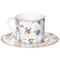 Чайная пара БукингемIM15018E-A218ALЧайная пара Букингем сочетает в себе изысканный дизайн с максимальной функциональностью. Чашка с блюдцем выполнены из керамики и декорированы цветочным узором. Красочность оформления придется по вкусу и ценителям классики, и тем, кто предпочитает утонченность и изысканность. Такая чайная пара станет отличным сувениром для ваших друзей и близких.
