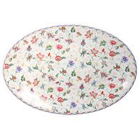 Блюдо Букингем, овальноеIMC1185-A218ALОвальное блюдо Букингем, выполненное из керамики и декорированное цветочным рисунком, сочетает в себе изысканный дизайн с максимальной функциональностью. Красочность оформления придется по вкусу и ценителям классики, и тем, кто предпочитает утонченность и изящность. Блюдо Букингем украсит сервировку вашего стола и подчеркнет прекрасный вкус хозяина, а также станет отличным подарком.