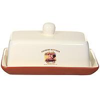 Масленка Terracotta Деревенское утро TLY288-CO-ALTLY288-CO-ALМасленка Деревенское утро, выполненная из высококачественной керамики, прекрасно подойдет для вашей кухни. Она предназначена для красивой сервировки и хранения масла.