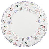 Тарелка обеденная Букингем, диаметр 25 смIMA0180H-A218ALОбеденная тарелка Букингем прекрасно подойдет для сервировки вторых блюд. Она изготовлена из керамики и оформлена цветочным узором, который придется по вкусу и ценителям классики, и тем, кто предпочитает утонченность и изысканность. Такая тарелка украсит сервировку вашего стола и подчеркнет прекрасный вкус хозяина, а также станет отличным подарком. Тарелка пригодна для использования в микроволновой печи. Характеристики: Материал: керамика. Диаметр: 26 см. Размер упаковки: 27 см х 27 см х 3,5 см. Производитель: Китай. Артикул: IMA0180H-A218AL. Изделия торговой марки Imari произведены из высококачественной керамики, основным ингредиентом которой является твердый доломит, поэтому все керамические изделия Imari - легкие, белоснежные, прочные и устойчивы к высоким температурам. Высокое качество изделий достигается не только благодаря использованию особого сырья и новейших технологий и оборудования при изготовлении посуды, но также...