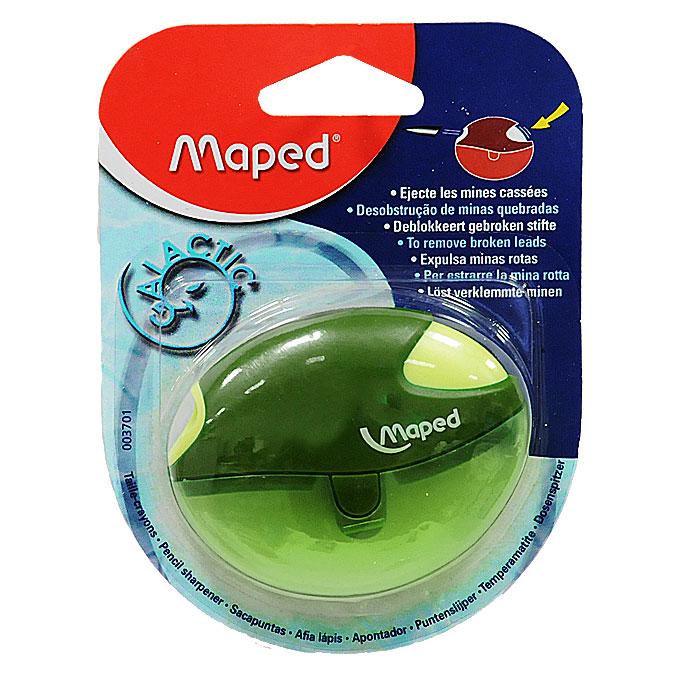 Maped Точилка Galactic цвет зеленый 003701