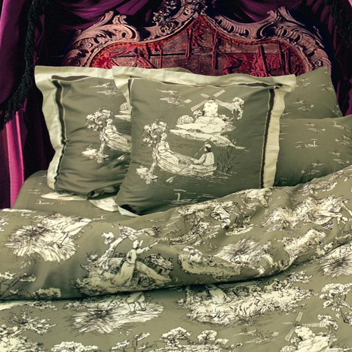 Комплект белья Романтик (1,5 спальный КПБ, сатин, наволочки 70х70)Т-0751-01_1,5-спальныйКомплект постельного белья Романтик, изготовленный из сатина, поможет вам расслабиться и подарит спокойный сон. Постельное белье имеет изысканный внешний вид и обладает яркостью и сочностью цвета. Комплект состоит из пододеяльника, простыни и двух наволочек. Все предметы комплекта цельнокроеные. Благодаря такому комплекту постельного белья вы сможете создать атмосферу уюта и комфорта в вашей спальне. Сатин производится из высших сортов хлопка, а своим блеском, легкостью и на ощупь напоминает шелк. Такая ткань рассчитана на 200 стирок и более. Постельное белье из сатина превращает жаркие летние ночи в прохладные и освежающие, а холодные зимние - в теплые и согревающие. Благодаря натуральному хлопку, комплект постельного белья из сатина приобретает способность пропускать воздух, давая возможность телу дышать. Одно из преимуществ материала в том, что он практически не мнется и ваша спальня всегда будет аккуратной и нарядной. Страна: Россия. Материал: сатин...