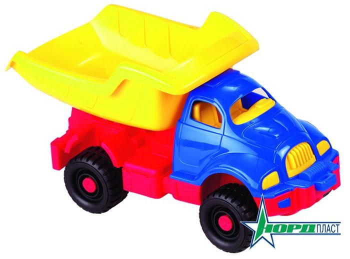 Грузовик Космический, цвет: синий, желтый, красный030Яркий грузовик Космический, изготовленный из прочного безопасного материала желтого, синего и красного цветов, отлично подойдет ребенку для различных игр. Грузовик - прекрасный помощник на строительной площадке. С его помощью можно перевозить камни, песок, ветки и другие грузы. Его кузов поднимается и опускается, а в кабину можно посадить маленькую игрушку. Большие колеса с крупным протектором обеспечивают грузовику устойчивость и хорошую проходимость. Ваш юный строитель сможет прекрасно провести время дома или на улице, воспроизводя свою стройку.