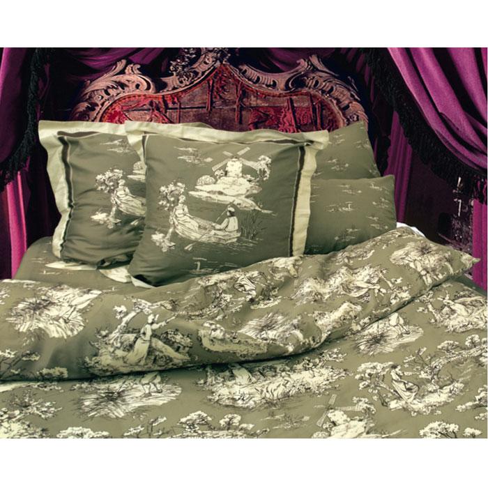 Комплект белья Романтик (2-х спальный КПБ, сатин, 4 наволочки 50х70, 70х70)Т-0751-01_2-спальныйКомплект постельного белья Романтик, изготовленный из сатина, поможет вам расслабиться и подарит спокойный сон. Постельное белье имеет изысканный внешний вид и обладает яркостью и сочностью цвета. Комплект состоит из пододеяльника, простыни и четырех наволочек. Все предметы комплекта цельнокроеные. Благодаря такому комплекту постельного белья вы сможете создать атмосферу уюта и комфорта в вашей спальне. Сатин производится из высших сортов хлопка, а своим блеском, легкостью и на ощупь напоминает шелк. Такая ткань рассчитана на 200 стирок и более. Постельное белье из сатина превращает жаркие летние ночи в прохладные и освежающие, а холодные зимние - в теплые и согревающие. Благодаря натуральному хлопку, комплект постельного белья из сатина приобретает способность пропускать воздух, давая возможность телу дышать. Одно из преимуществ материала в том, что он практически не мнется и ваша спальня всегда будет аккуратной и нарядной.
