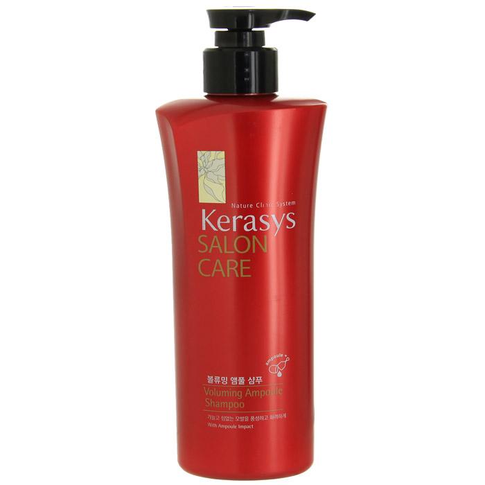 Шампунь для волос Kerasys. Salon Care, объем, 470 мл894316Шампунь для волос Kerasys. Salon Care с трехфазной системой восстановления укрепляет тонкие и слабые волосы. Природный протеин, содержащийся в экстракте моринги, обогащенный витаминами экстракт базилика и технология ампульной терапии увеличивает объем и пышность тонких и слабых волос. Трехфазная система восстановления: Природный протеин, содержащийся в экстракте плодов моринги, укрепляет и оздоравливает структуру поврежденных волос. Содержащиеся в экстракте базилика витамины придают волосам силу и упругость. Компонент природного кератина, полифенол, компонент красного вина и кристаллический компонент делают волосы здоровыми. Характеристики: Объем: 470 мл. Артикул: 894316. Товар сертифицирован.