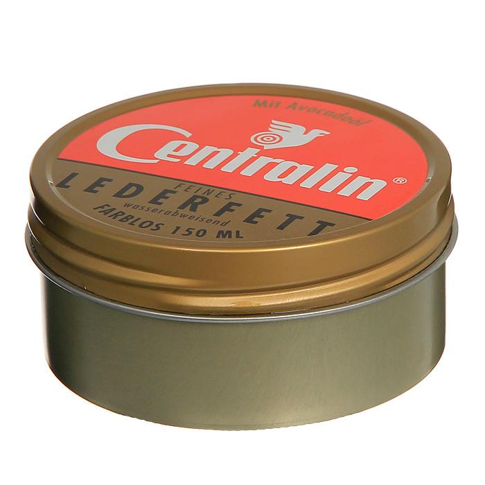 """Жир для кожаной обуви """"Centralin"""", цвет: бесцветный, 150 мл 250006*"""