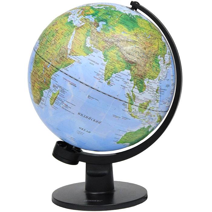 """Глобус """"Proff"""" с физической и политической картами мира, с подсветкой. Диаметр 30 см 20-0640, PGL3150"""