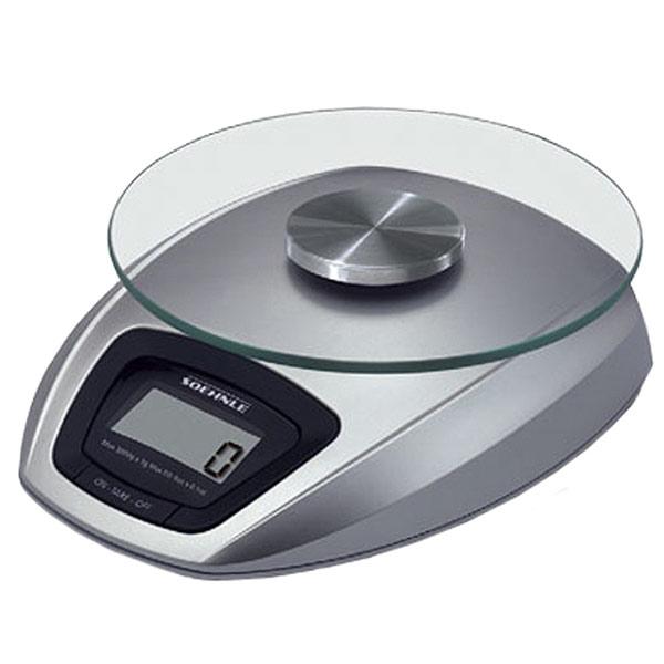 """Весы кухонные электронные """"Siena"""", цвет: серебристый"""