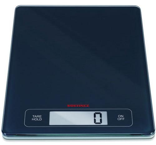 "Soehnle Весы кухонные электронные ""Page Profi"", цвет: черный 67080"