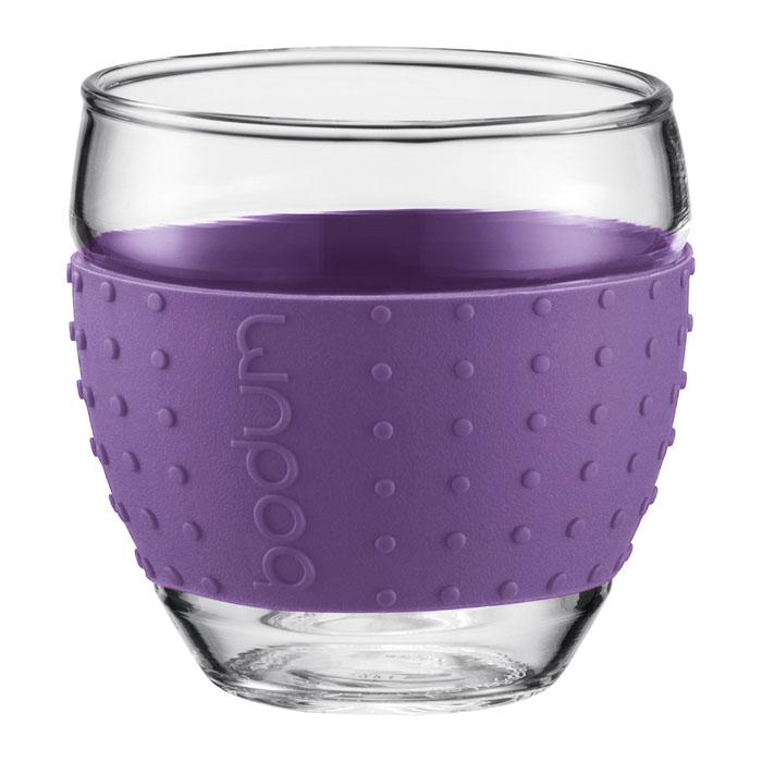 Набор бокалов Bodum Pavina 2 шт, 0,35л, цвет: фиолетовый 11185-278