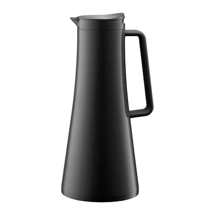 Термокувшин Bodum Bistro 1,1л, цвет: черный 11189-01