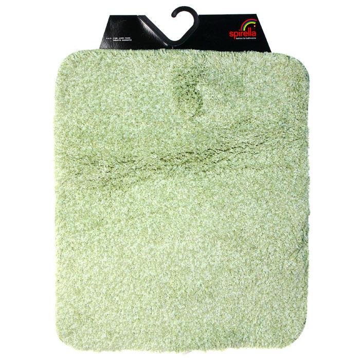 Коврик для ванной комнаты Gobi, цвет: зеленый чай, 55 х 65 см1012428Коврик для ванной комнаты Gobi выполнен из полиэстера высокого качества. Прорезиненная основа коврика позволяет использовать его во влажных помещениях, предотвращает скольжение коврика по гладкой поверхности, а также обеспечивает надежную фиксацию ворса. Коврик добавит тепла и уюта в ваш дом. Характеристики: Материал: 100% полиэстер. Размер: 55 см х 65 см. Производитель: Швейцария. Изготовитель: Китай. Артикул: 101428.